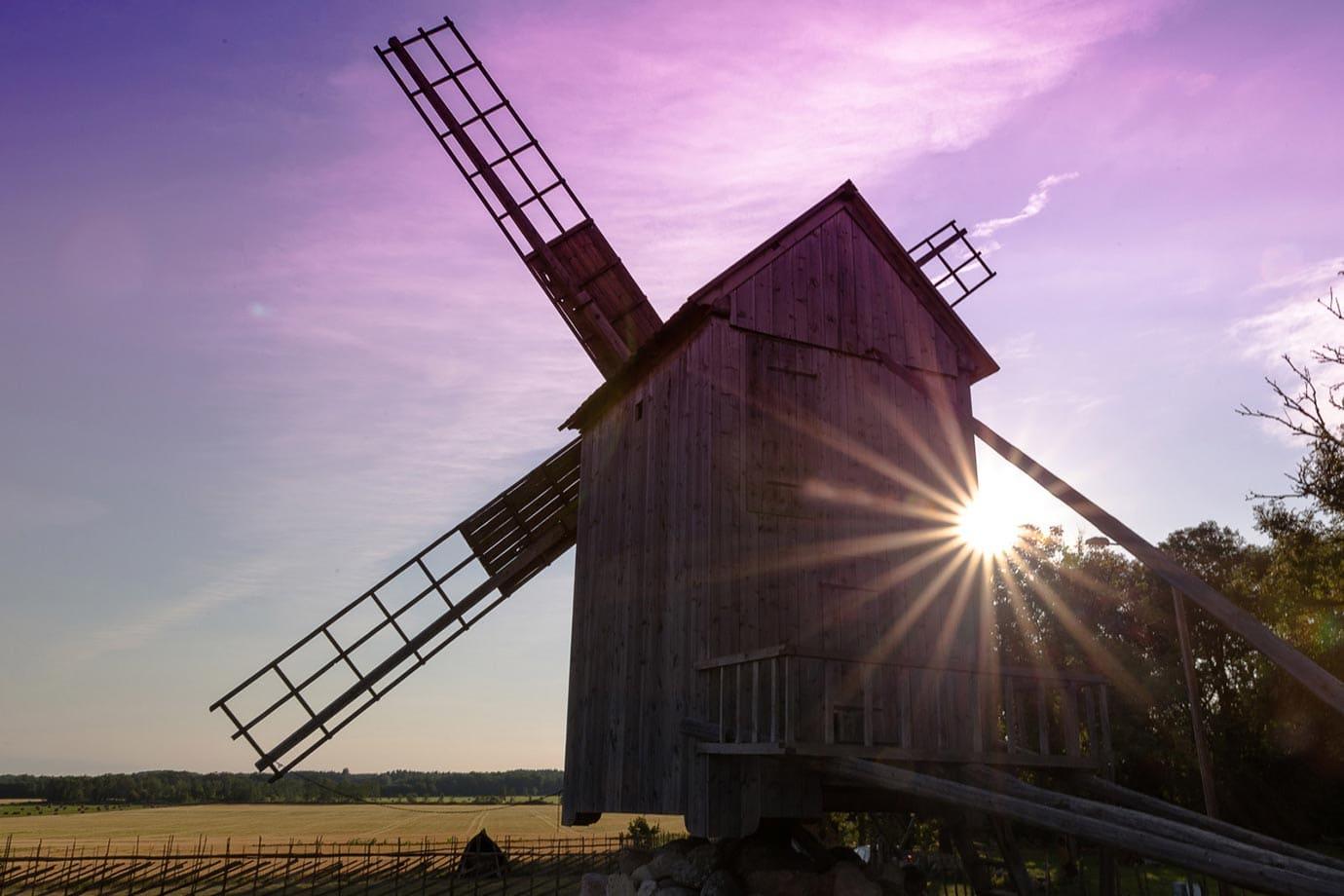 Windmills of Saaremaa, Estonia