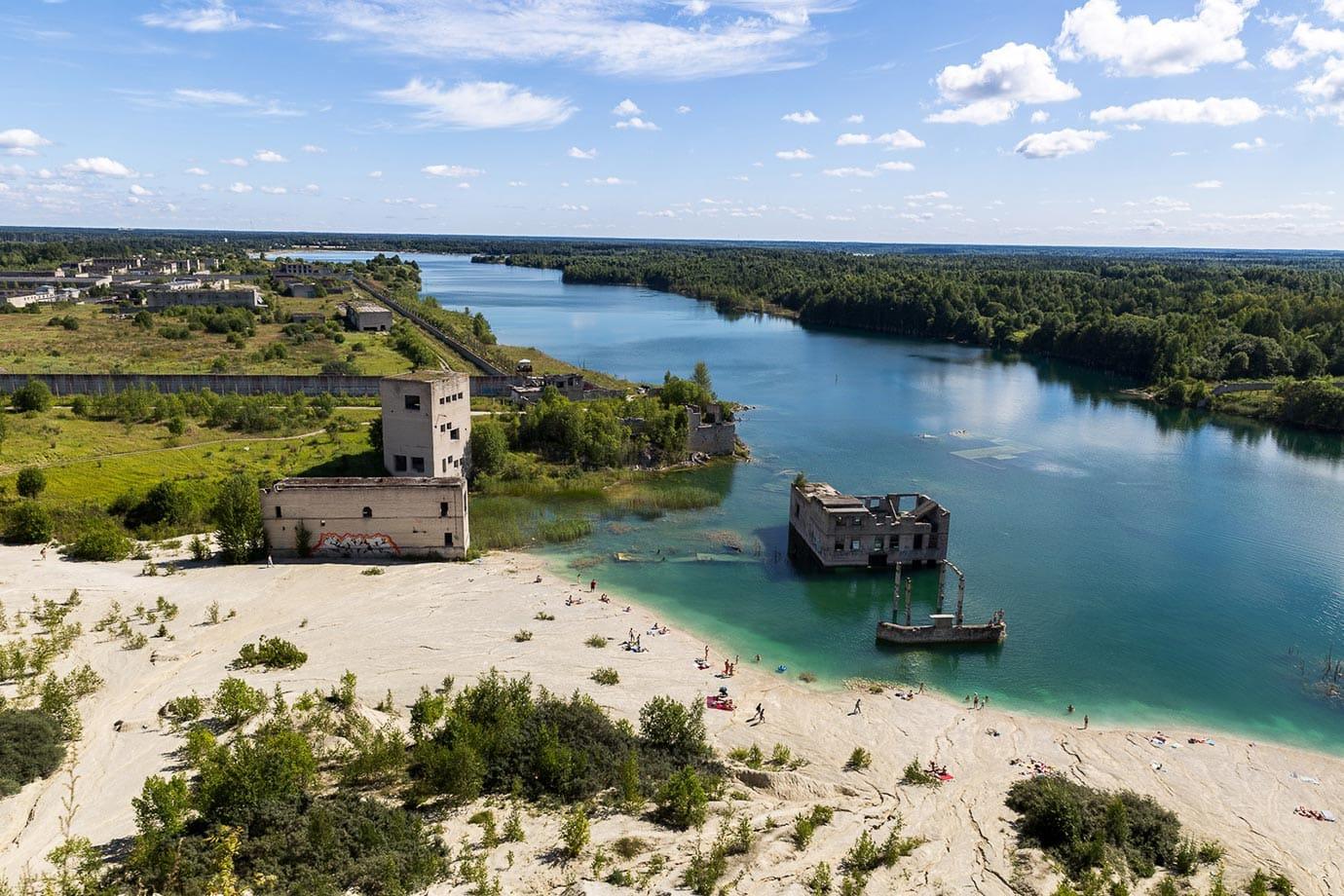 Deserted prison, Estonia