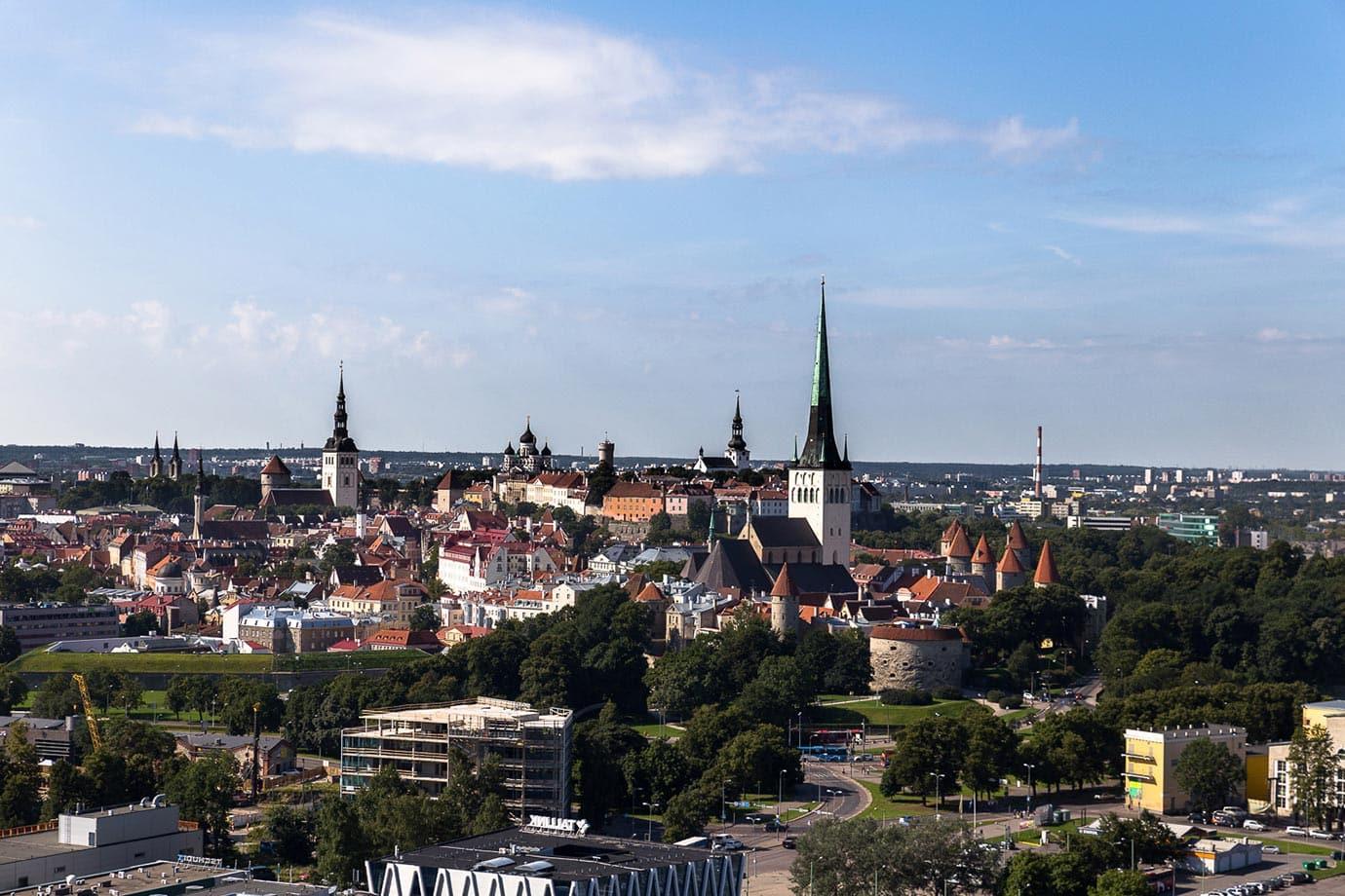 Views of Tallinn, Estonia