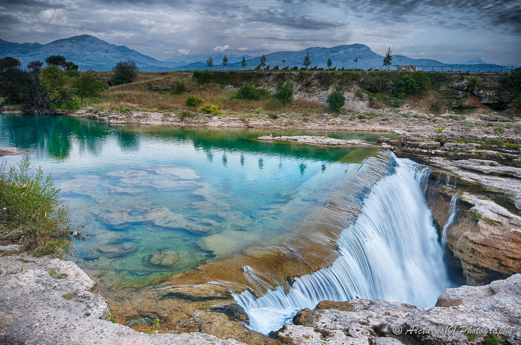 River Cijevna Waterfall, Montenegro
