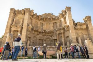 Abraham Tours at Jerash, Jordan