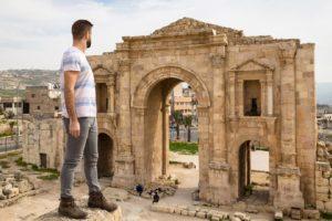 Hadrian's Arch, Jerash, Jordan