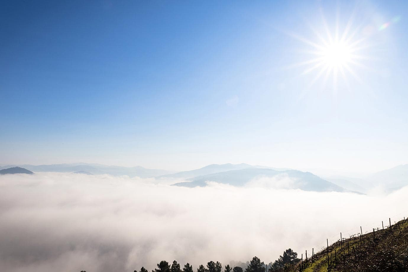 Clouds in the Douro Valley