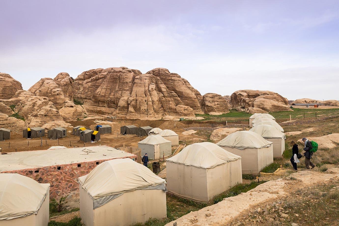 Sunrise at the Seven Wonders Bedouin Camp, Jordan