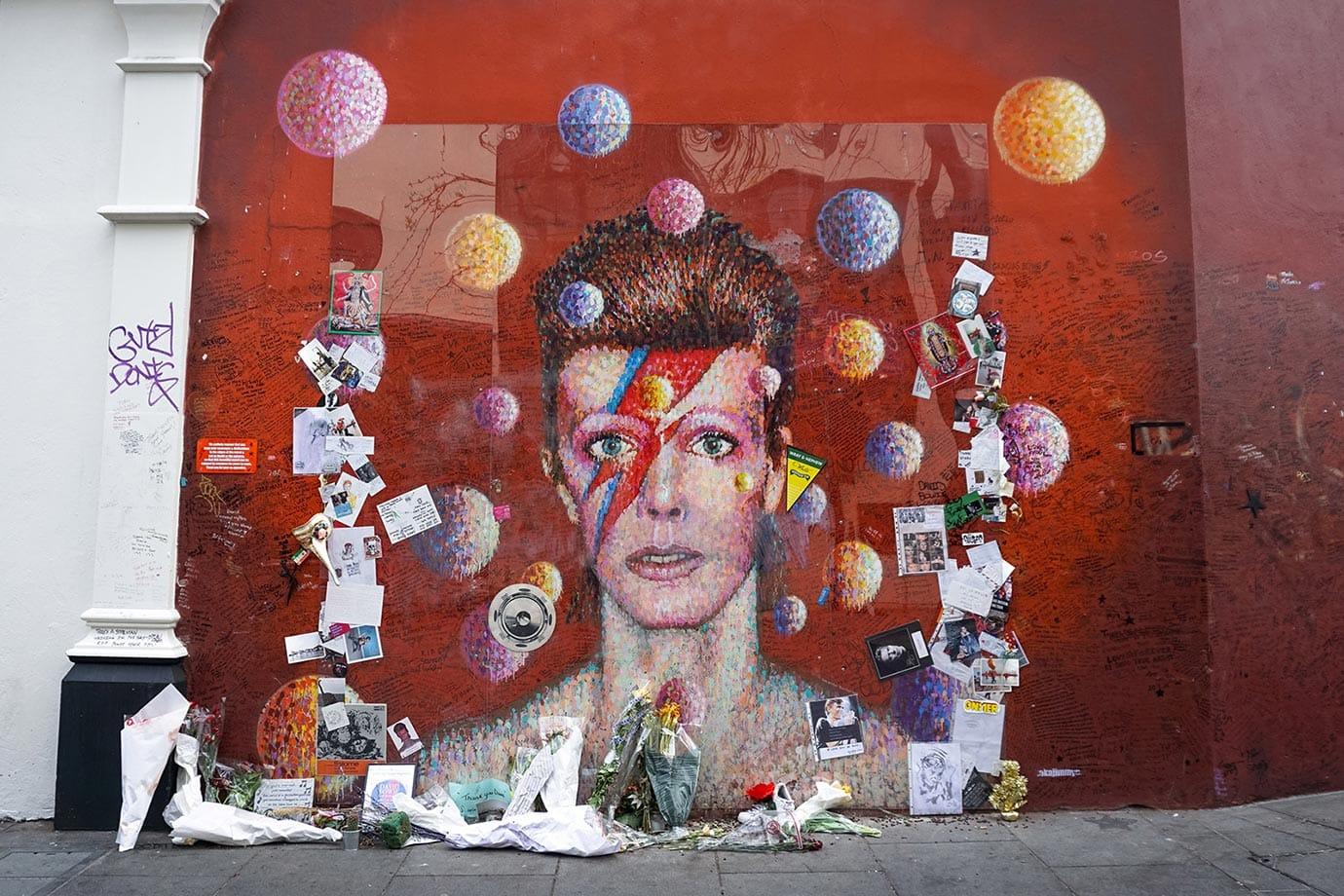 David Bowie memorial, Brixton