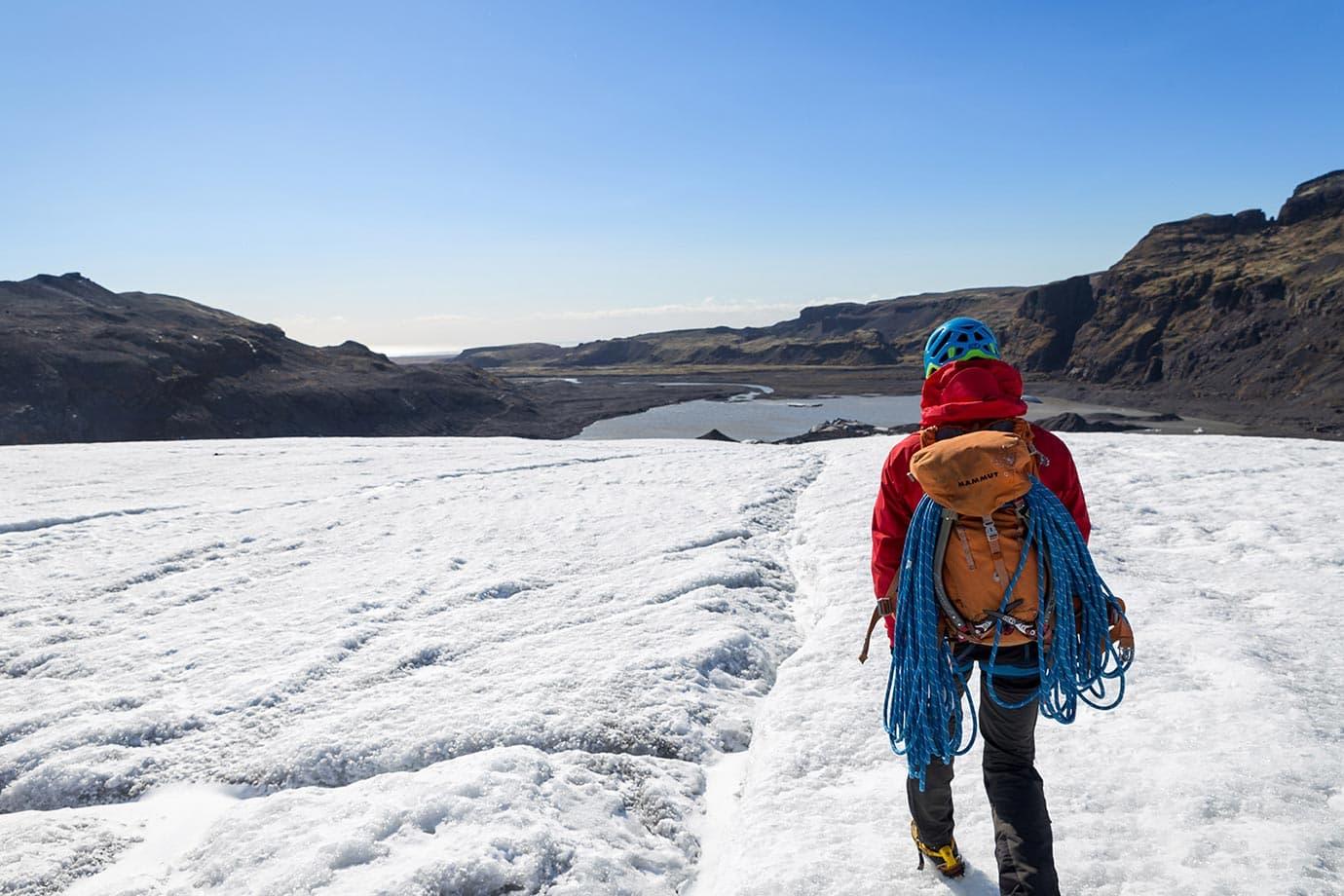 iceland glacier climbing tours