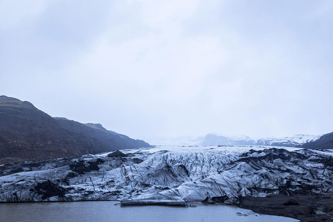 glacier climbing iceland