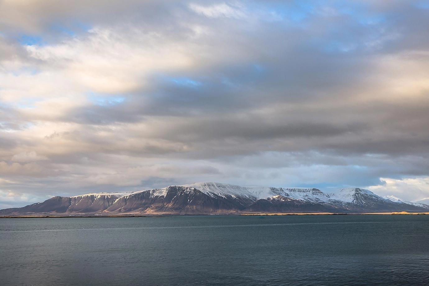 Mountains in Reykjavik, Iceland