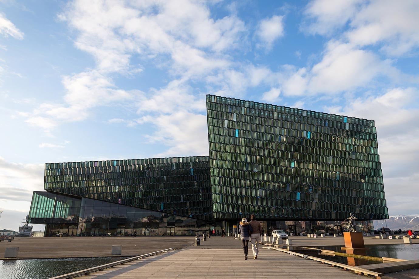 Harpa building, Reykjavik