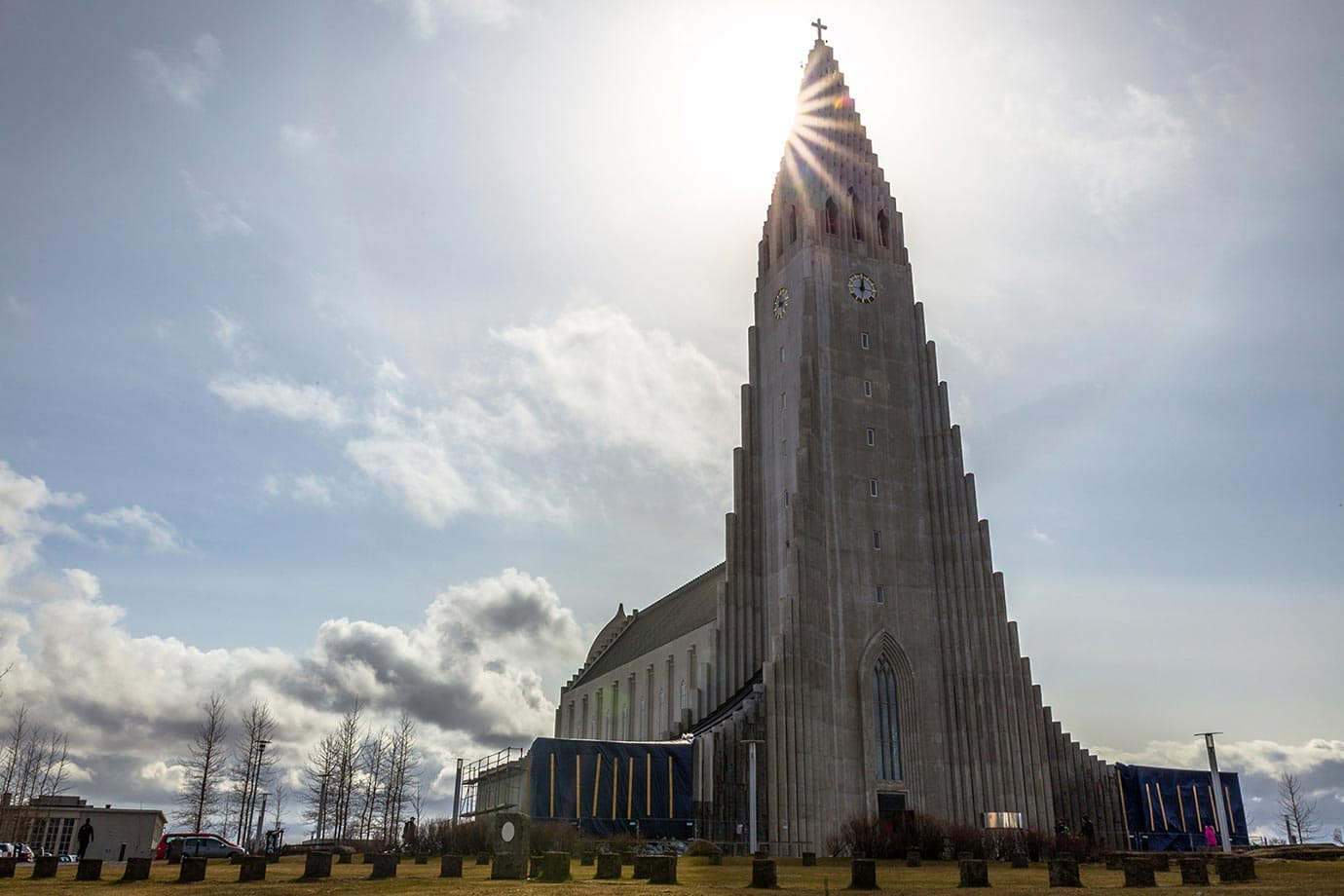 Hallgrimskirka church, Iceland