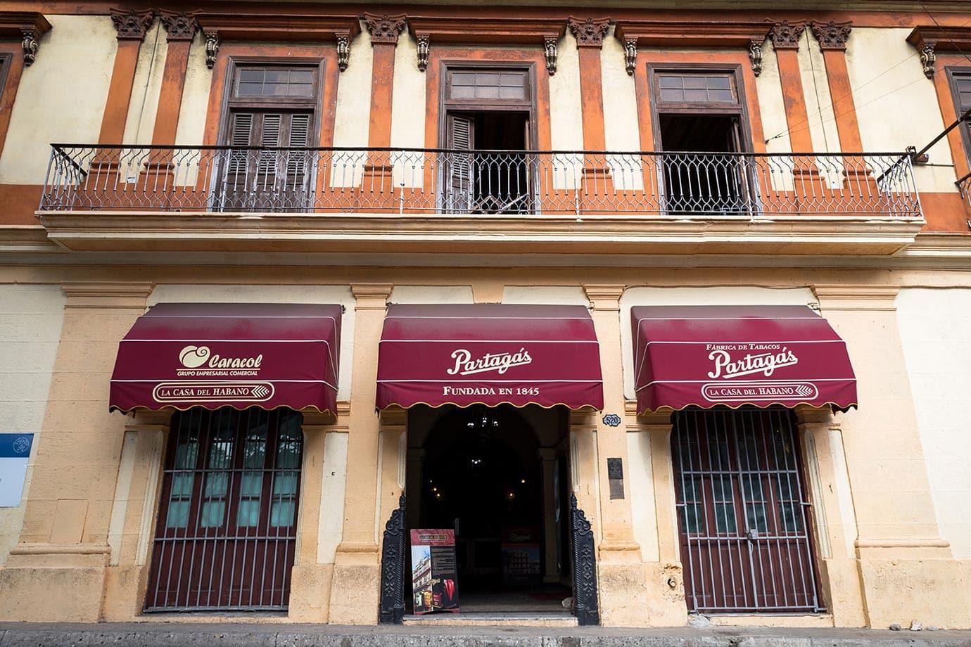 Partagras factory, Havana