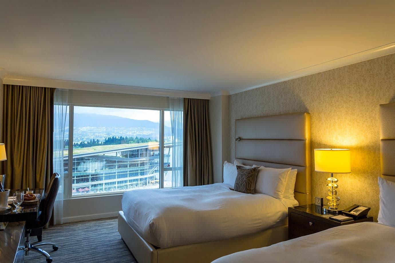 Fairmont Waterfront rooms