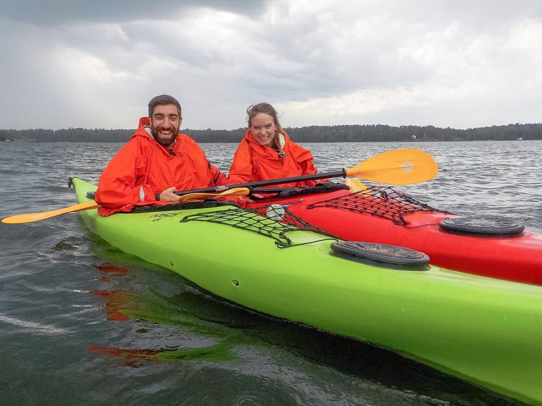 Kayaking in Finland