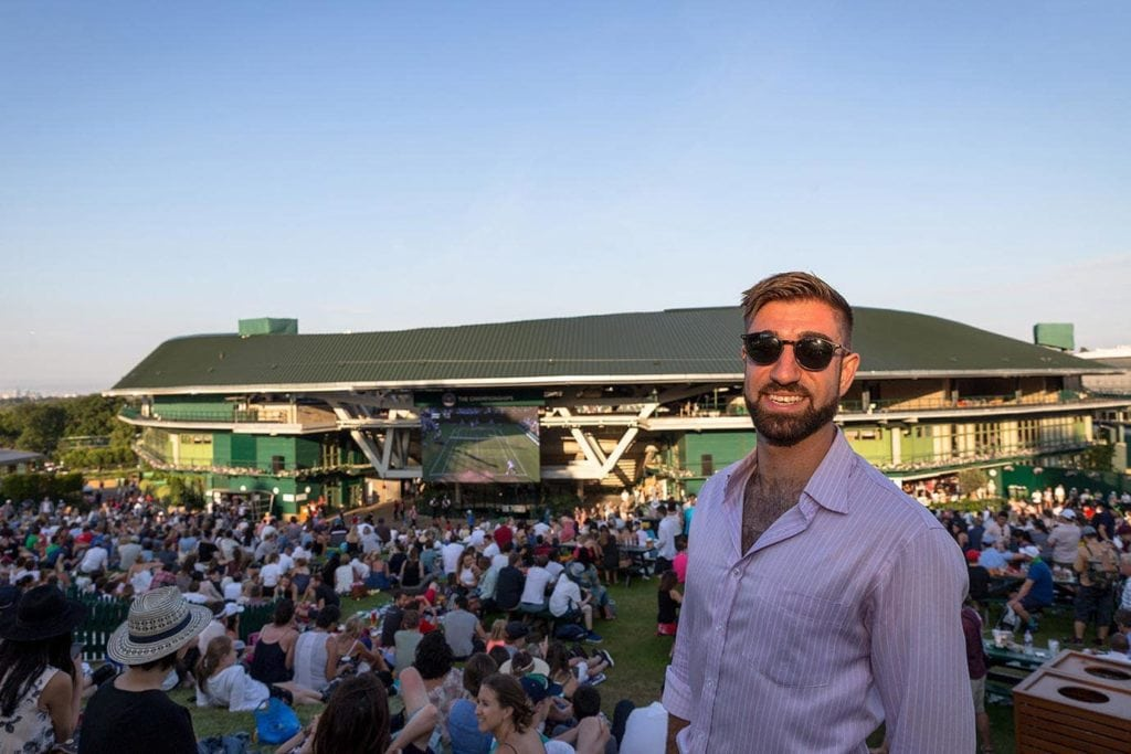 A Fun Day Out at Wimbledon