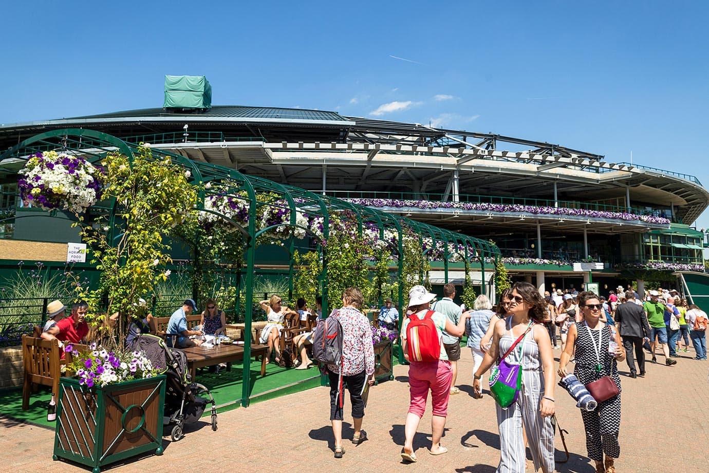 Grounds at Wimbledon