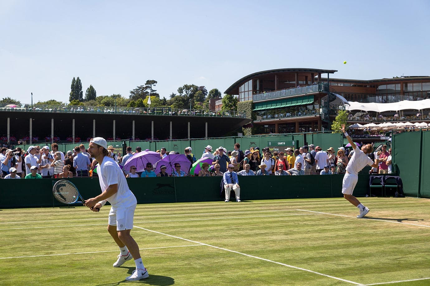 Outer courts at Wimbledon