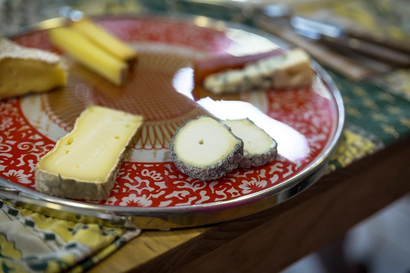 Cheese plate, Paris
