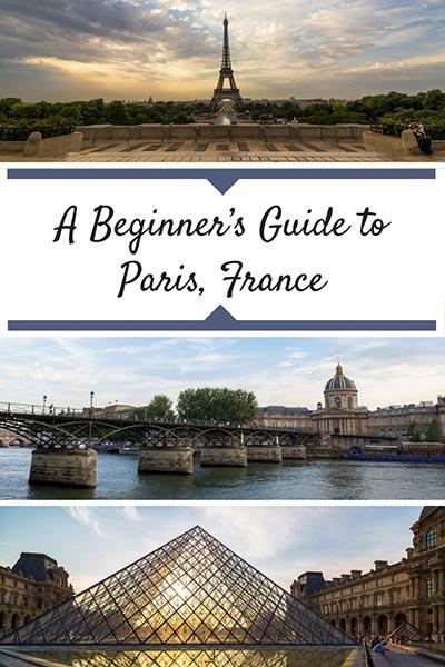 A guide to Paris