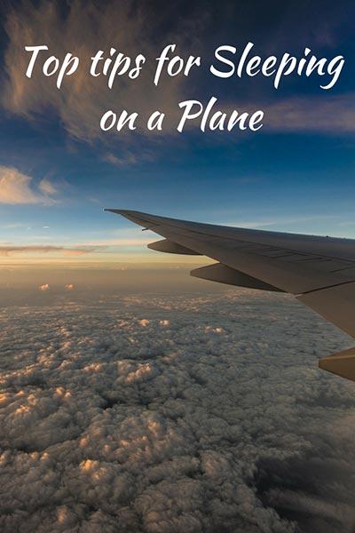 Plane sleeping tips