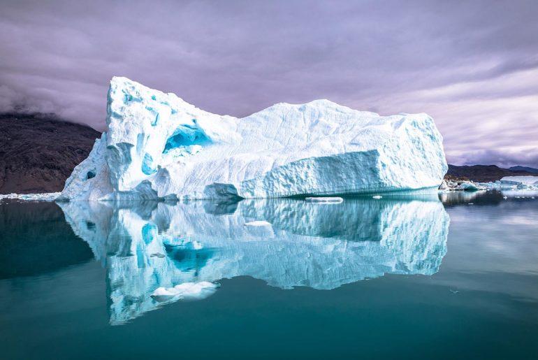 Icebergs in Greeland