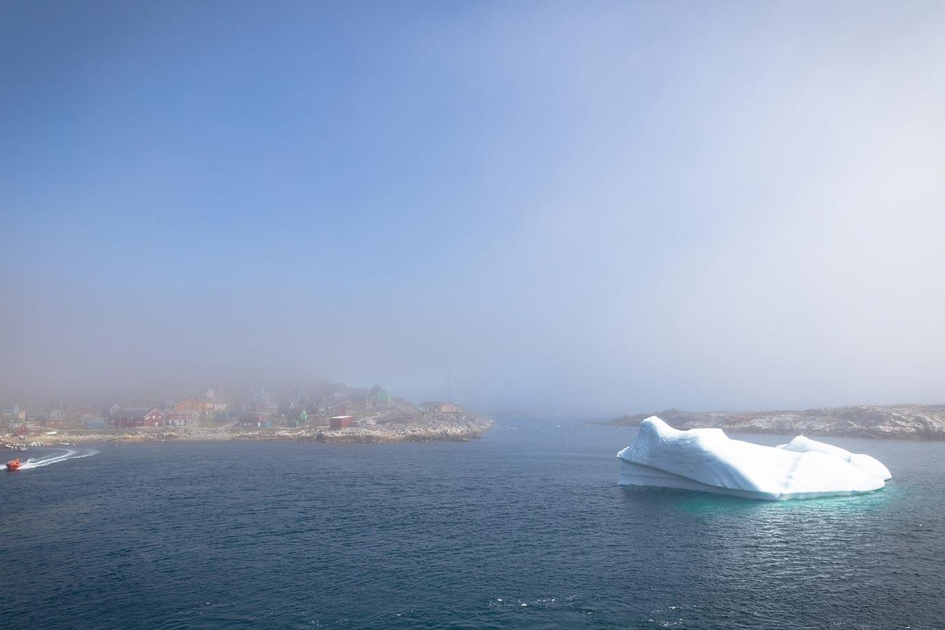 Huge iceberg in Greenland