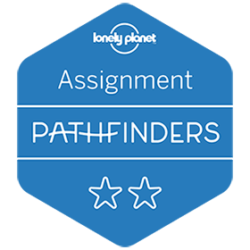 Lonely Planet Pathfinders Badge