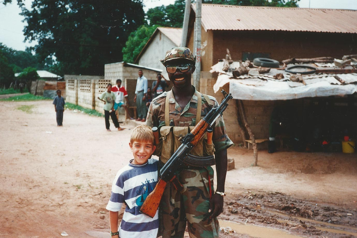 Military coup in the Gambia 1994