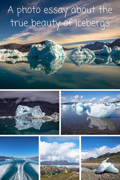 Photos of icebergs