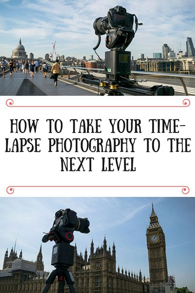 How to do a time-lapse