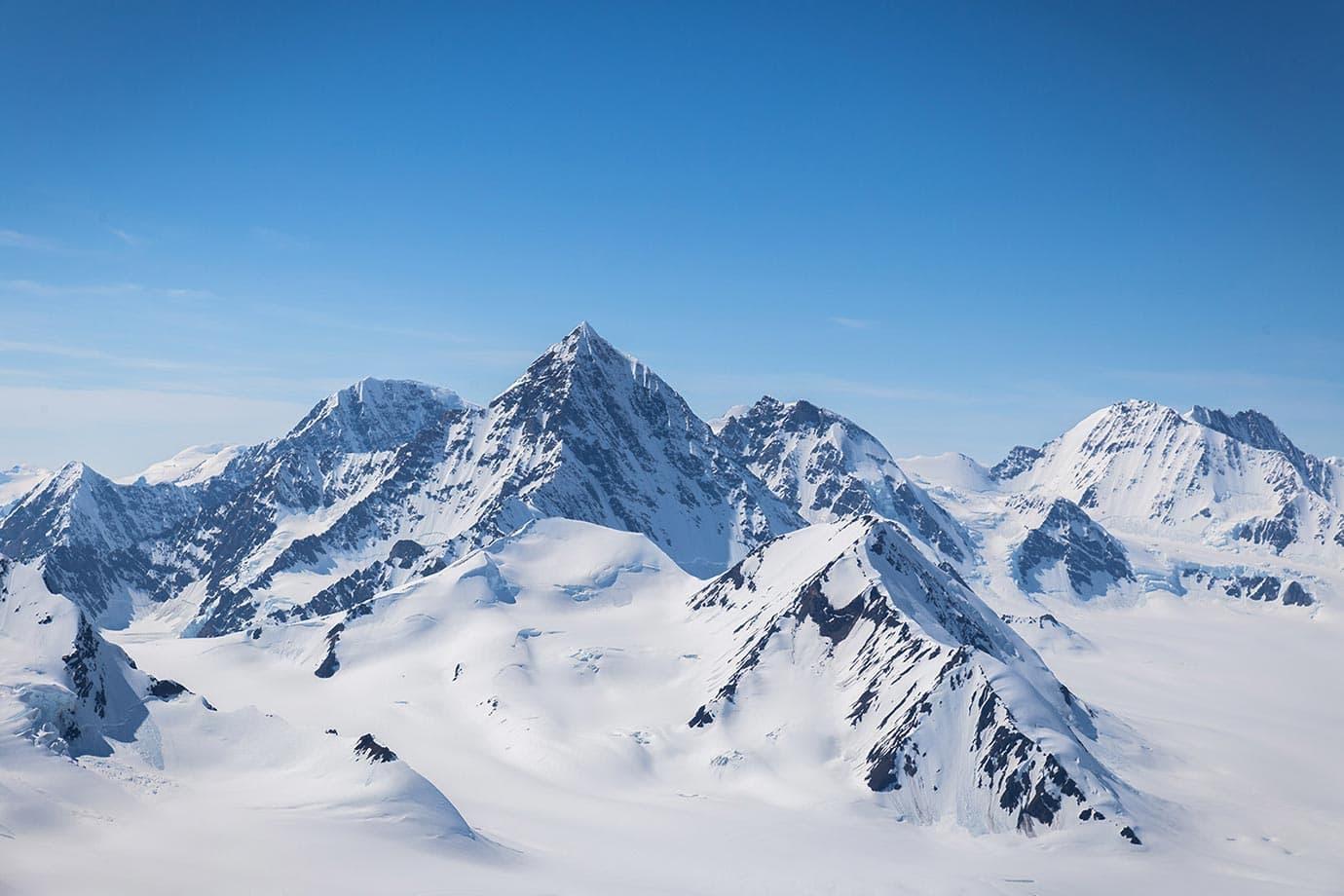 Mountains of Kluane National Park, Canada