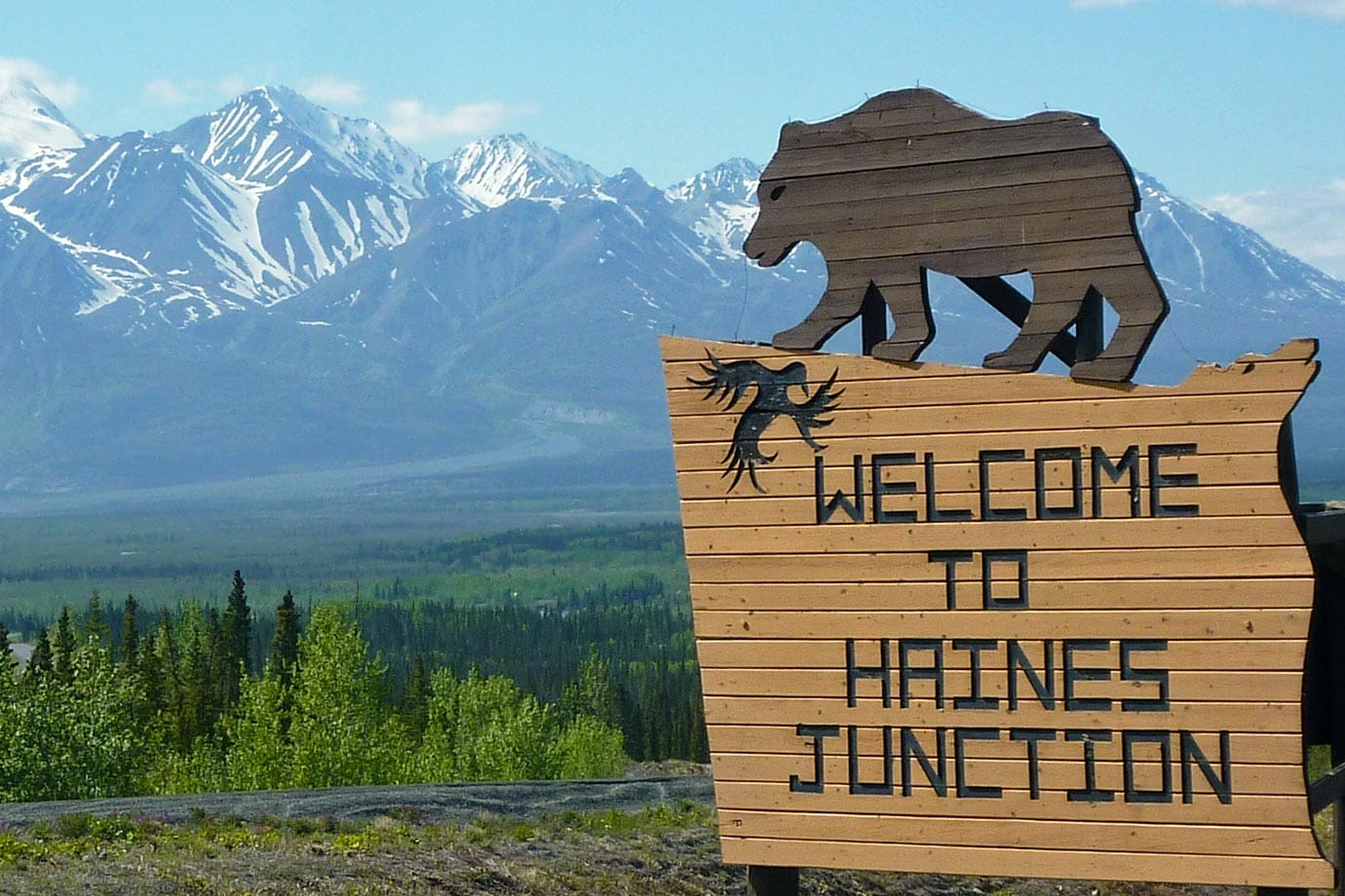 Welcome to Haines Junction