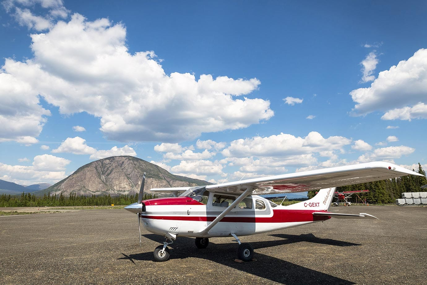 Airfield at Kluane National Park