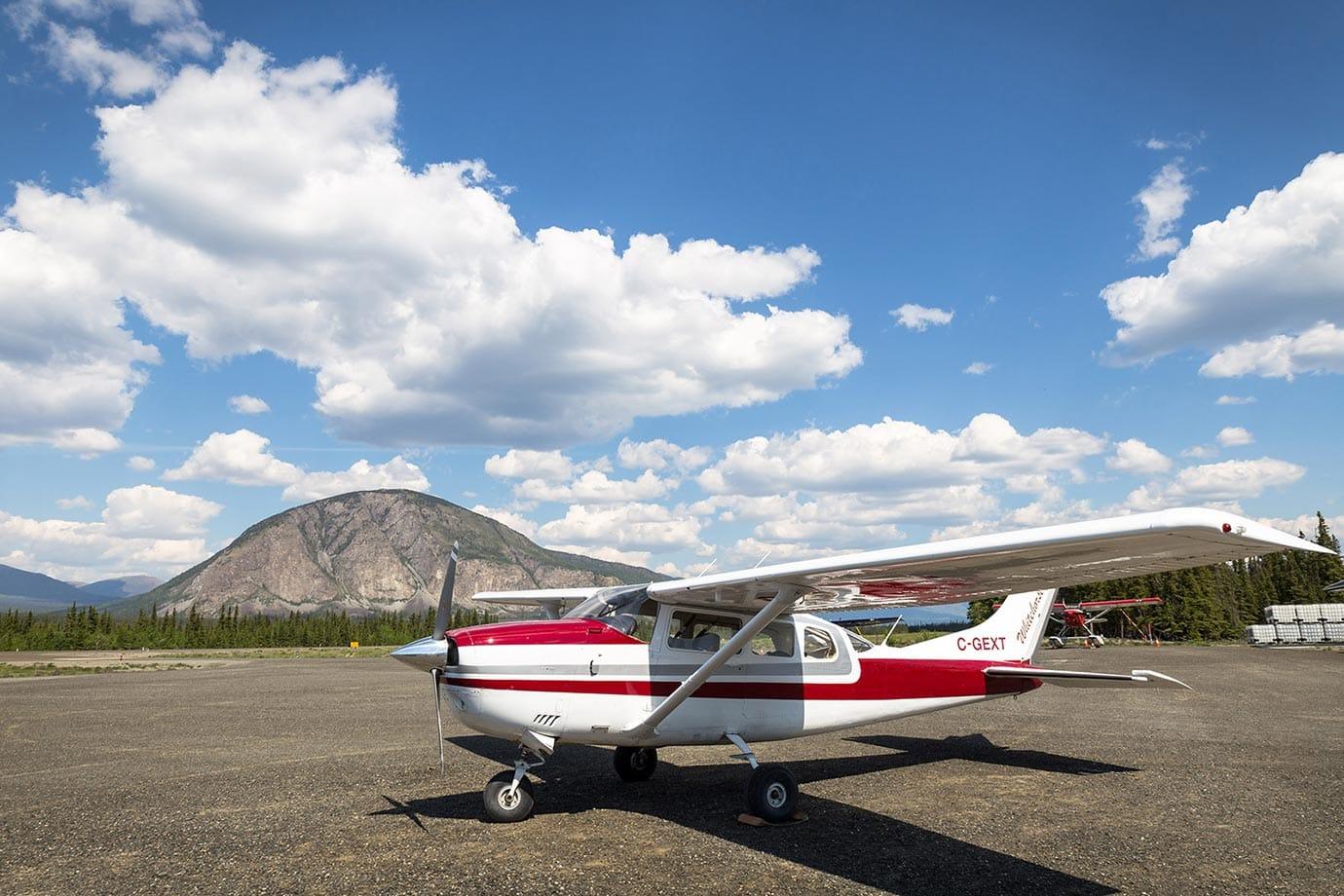 Airfield at Kluane National Park