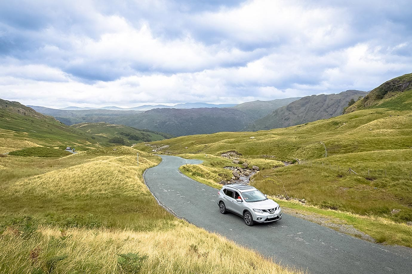 Driving in the Lake District