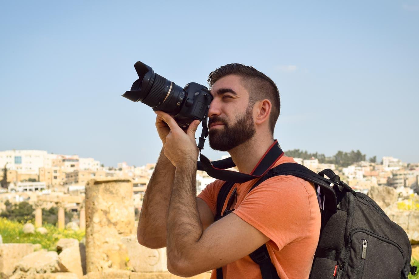 Taking photos abroad