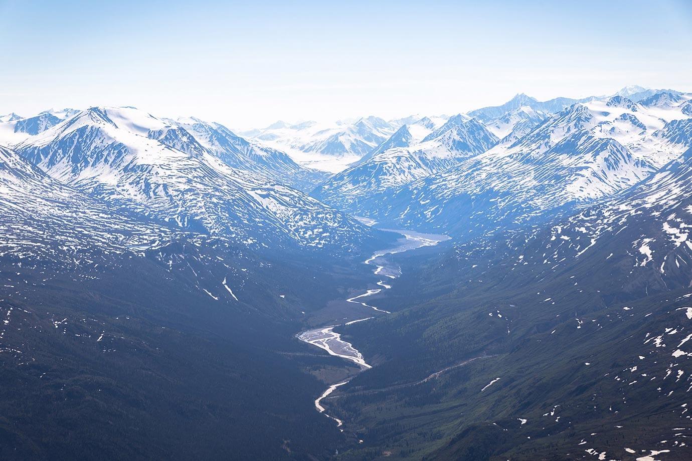 Mountains in the Yukon