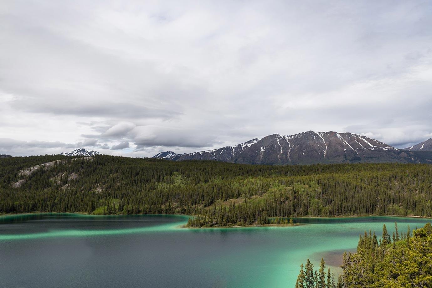 Emerald Lake, the Yukon