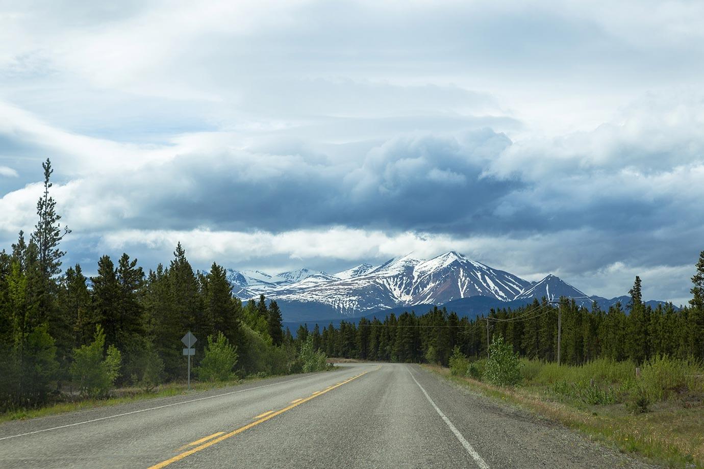 Driving around the Yukon