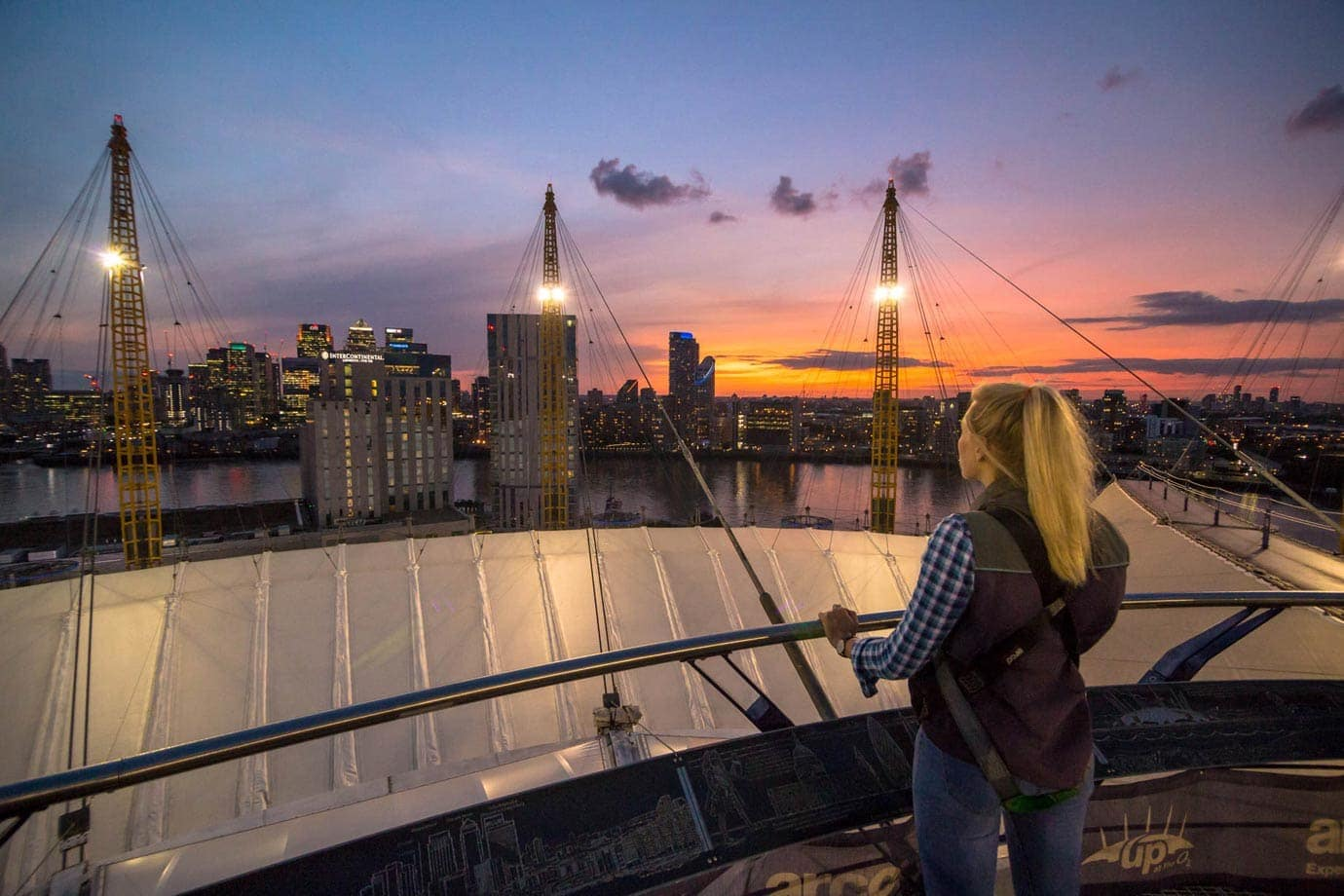 Top of the O2 London