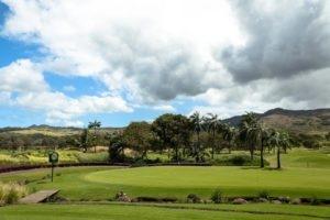 Golf course at Heritage le Telfair