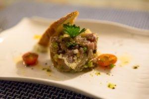 Tuna tartare in Mauritius