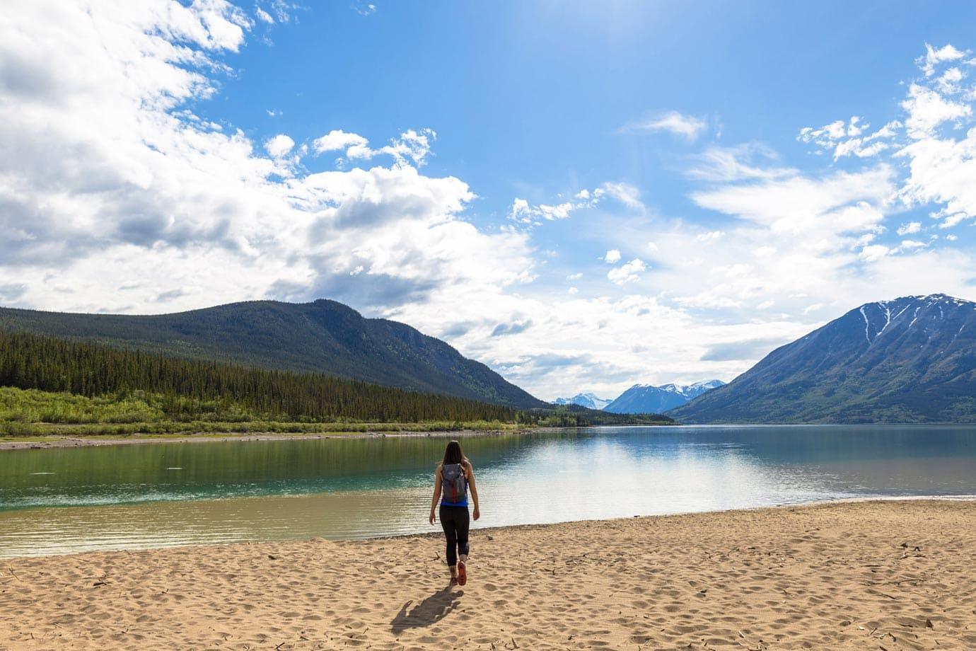 Beaches in the Yukon