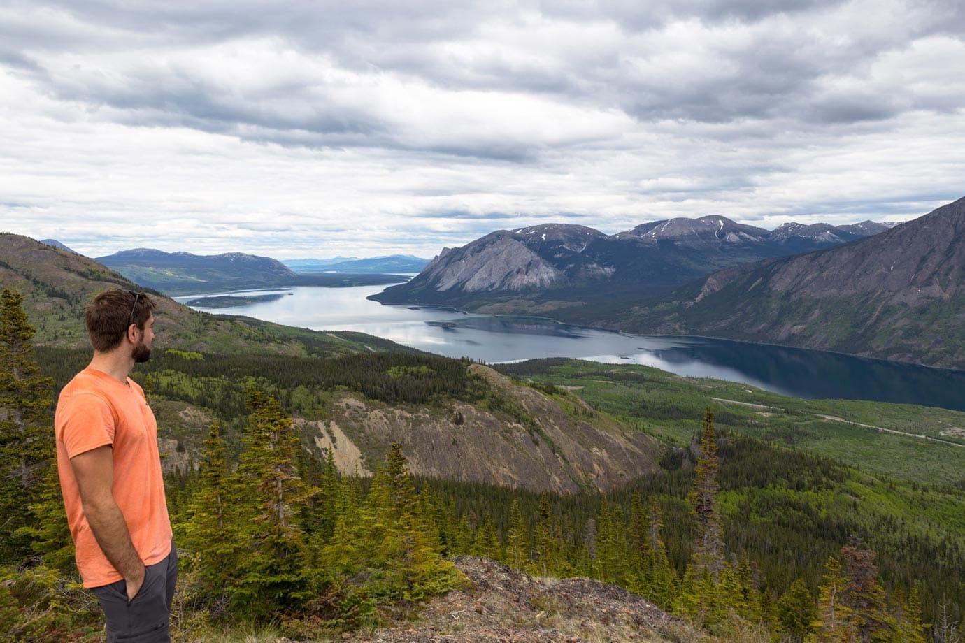 Hiking in the Yukon