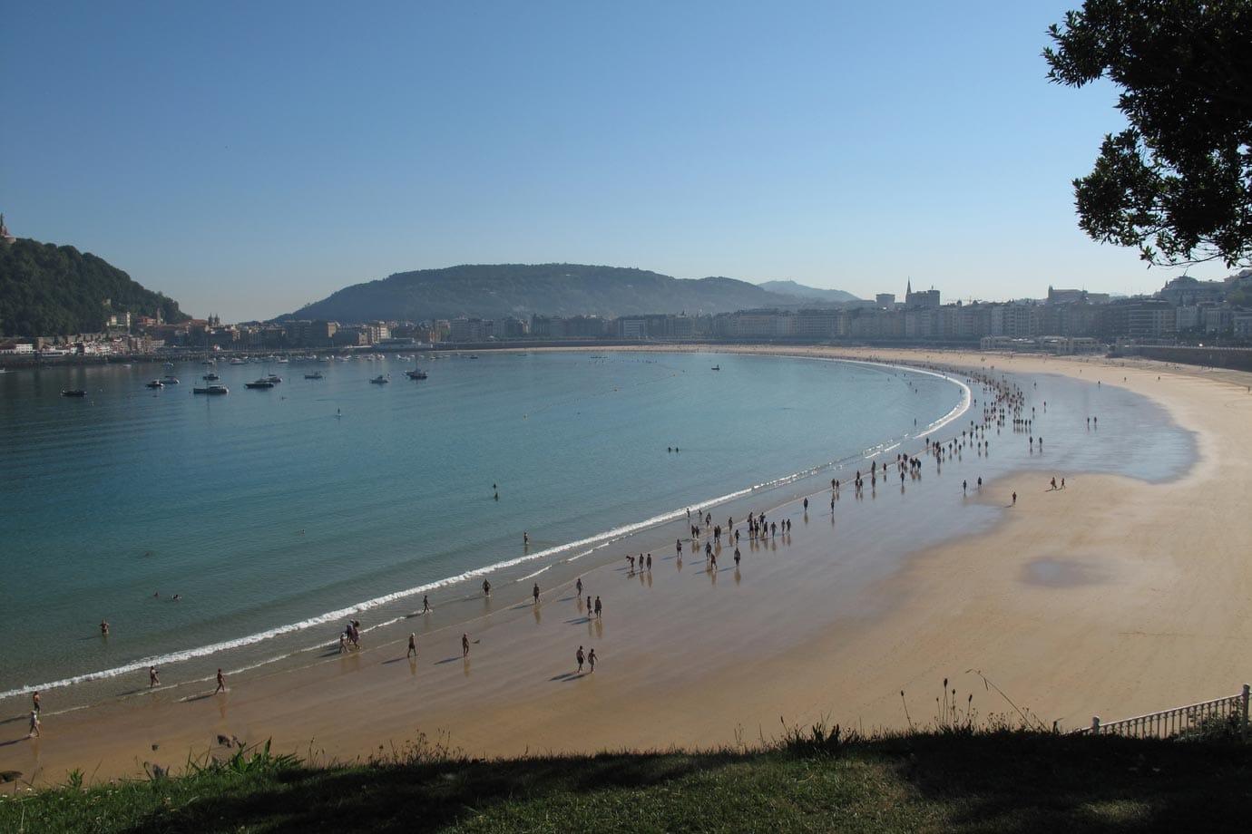 La Concha Beach, San Sebastian, Spain