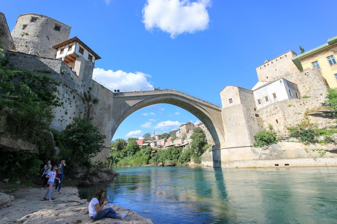 bosnia bridge jump