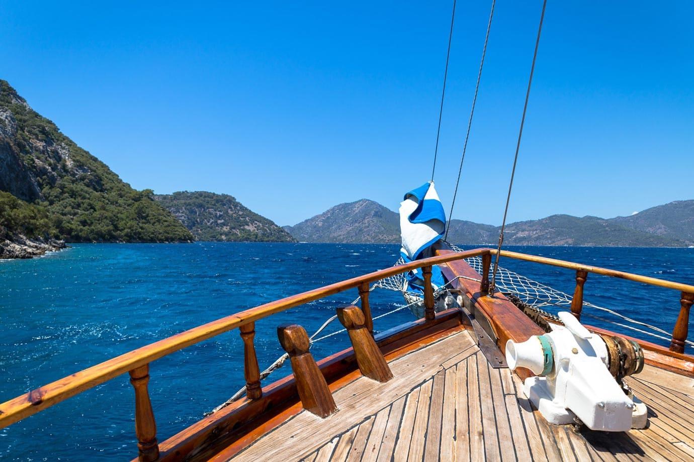 Turquoise Coast views