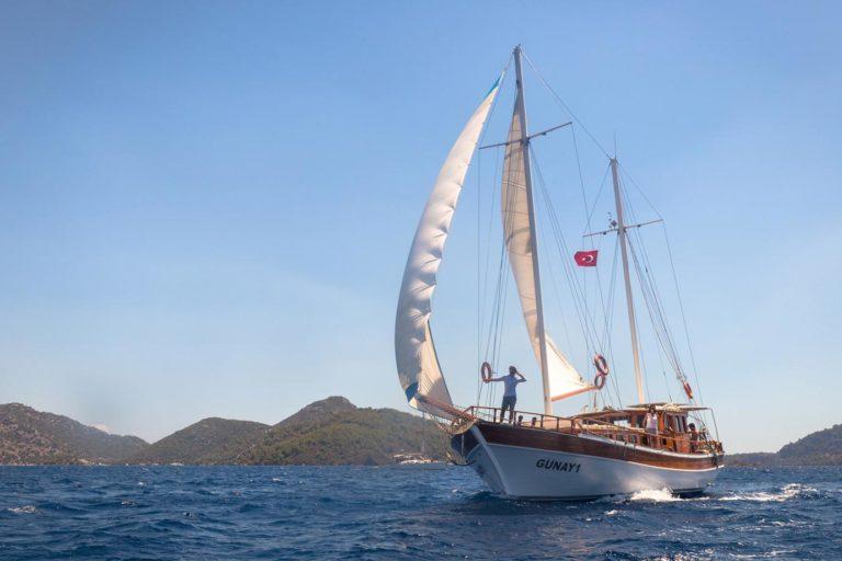 Sailing Turquoise Coast, Turkey