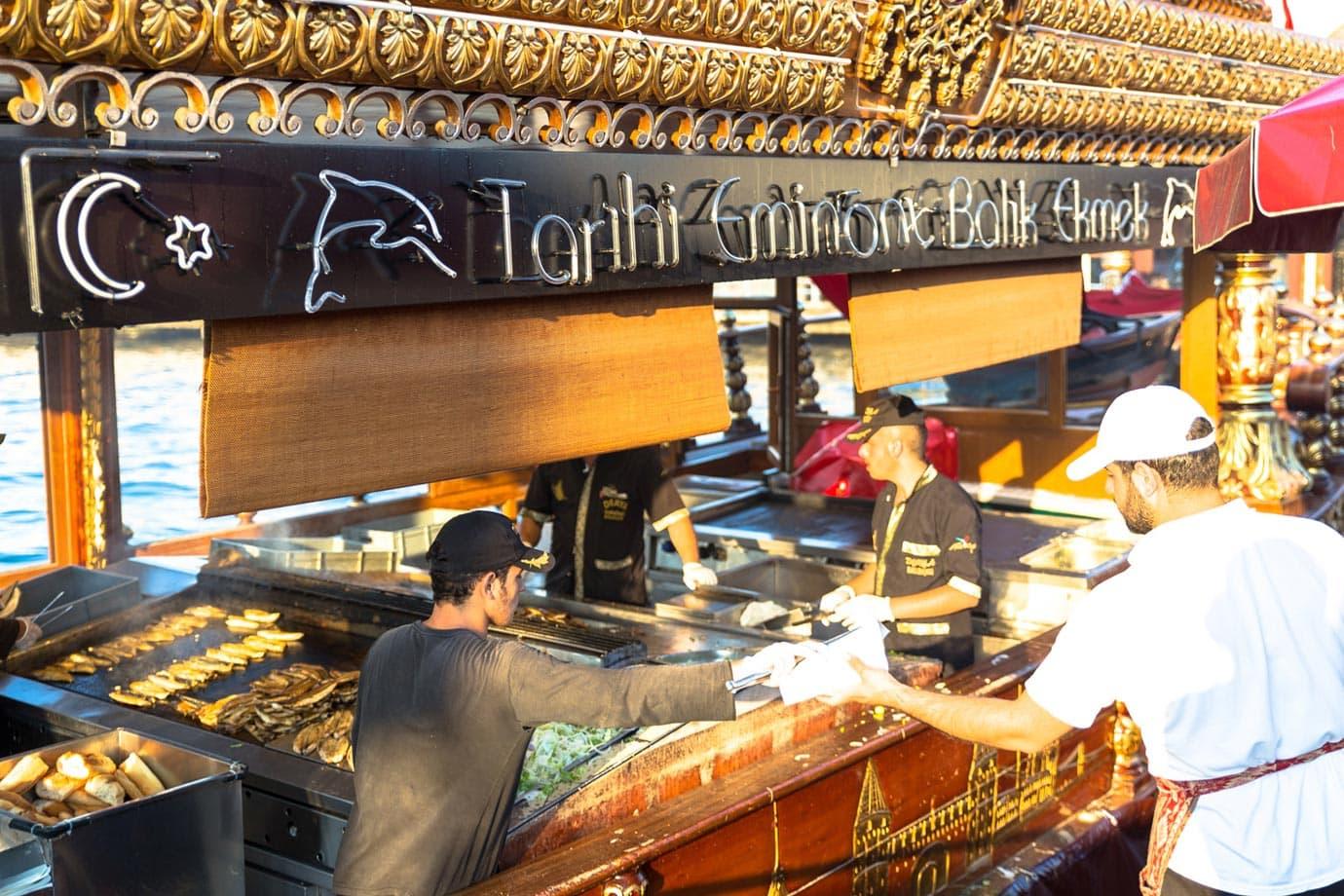 Balik Ekmek, Istanbul