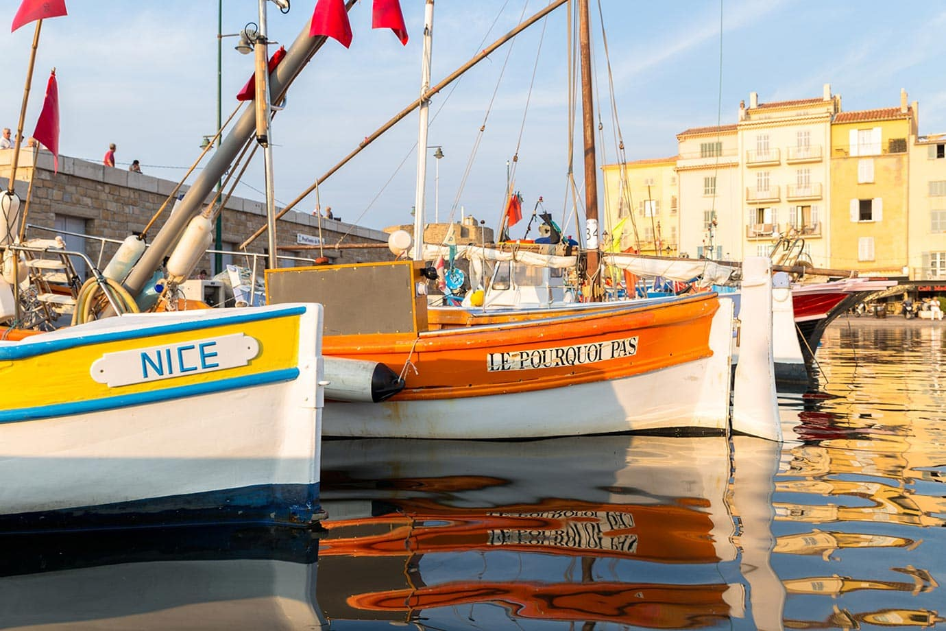 Boats at St-Tropez
