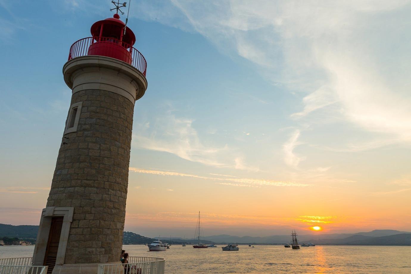 Sunset in St-Tropez